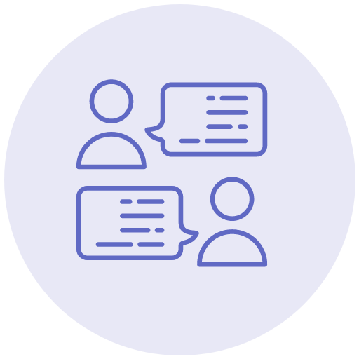 Live Chat & Discussion icon
